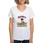 Warrior Children Women's V-Neck T-Shirt