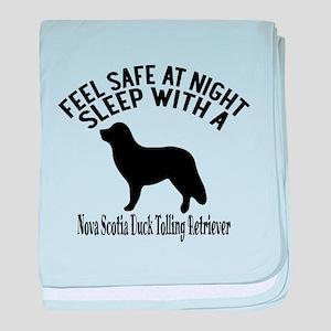 Feel Safe At Night Sleep With Nova Sc baby blanket