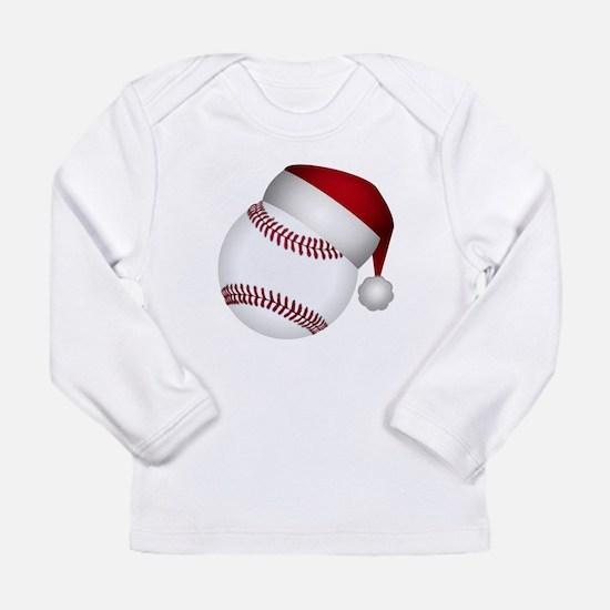Christmas Baseball Long Sleeve T-Shirt