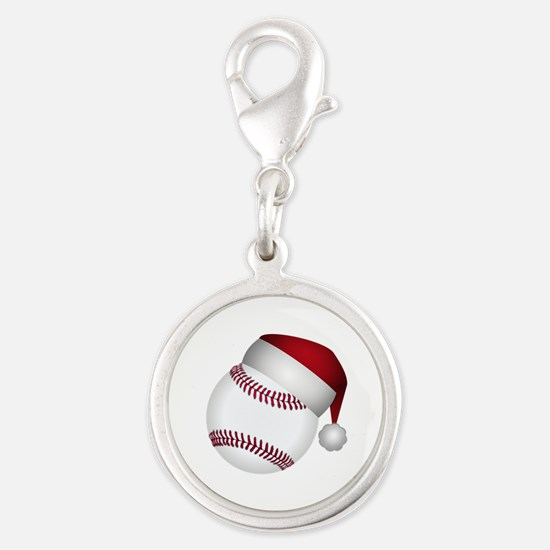 Christmas Baseball Charms