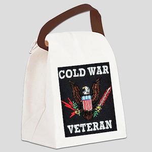 Cold War Era Veteran Canvas Lunch Bag