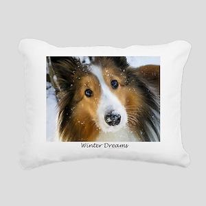 Winter Dreams Rectangular Canvas Pillow