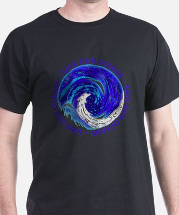 Unique Save whales T-Shirt