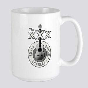 THE TRIPLE X'S Large Mug