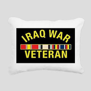 Iraq War Veteran Rectangular Canvas Pillow