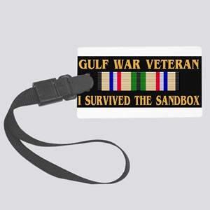 I survived the sandbox Luggage Tag