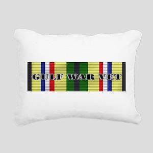 Gulf War Vet Rectangular Canvas Pillow
