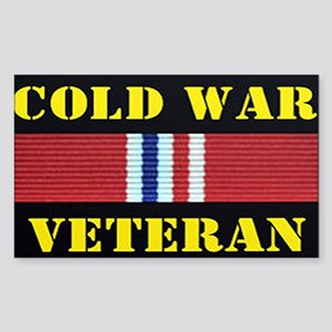 COLD WAR VETERAN Sticker
