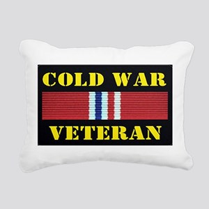 COLD WAR VETERAN Rectangular Canvas Pillow