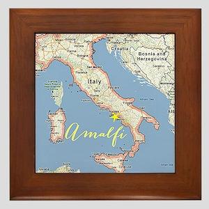 Amalfi, Italy Framed Tile