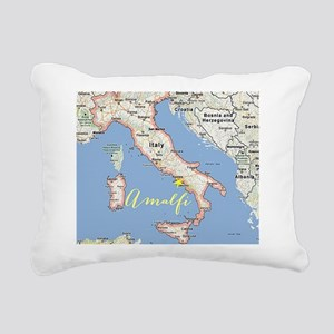 Amalfi, Italy Rectangular Canvas Pillow