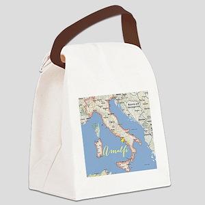 Amalfi, Italy Canvas Lunch Bag