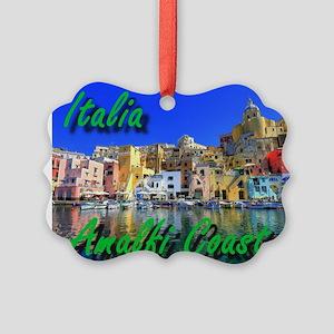Beautiful Amalfi Coast Ornament