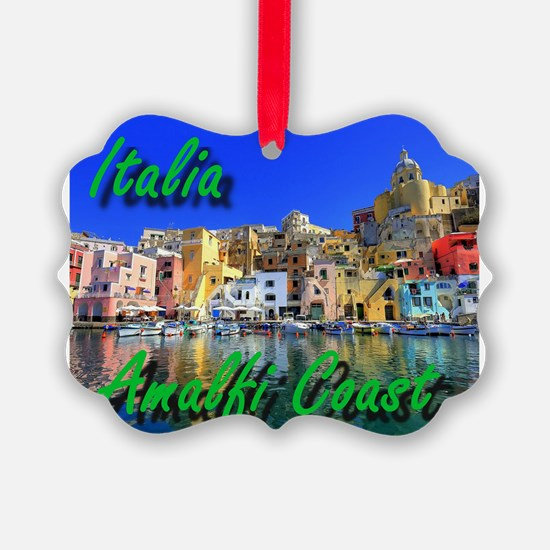 Beautiful Amalfi Coast Ornament