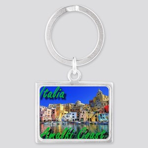 Beautiful Amalfi Coast Keychains