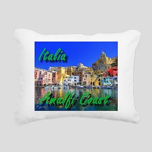 Beautiful Amalfi Coast Rectangular Canvas Pillow