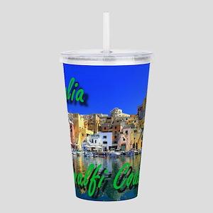 Beautiful Amalfi Coast Acrylic Double-wall Tumbler