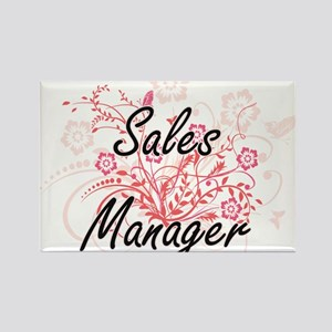 Sales Manager Artistic Job Design with Flo Magnets