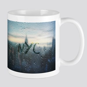 Rainy Day in NYC Mugs