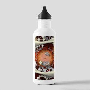 Steampunk in noble design Water Bottle