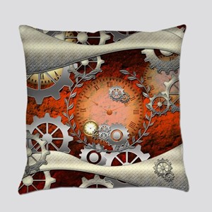 Steampunk in noble design Everyday Pillow