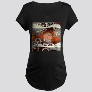 Steampunk in noble design Maternity T-Shirt