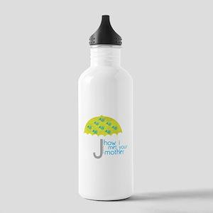 How I Met Your Mother Water Bottle