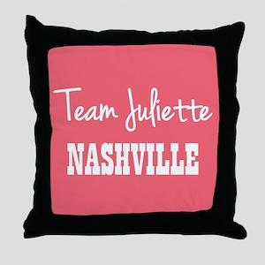 TEAM JULIETTE Throw Pillow