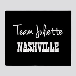 TEAM JULIETTE Throw Blanket