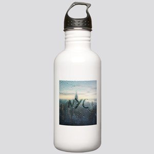 Rainy Day in NYC Stainless Water Bottle 1.0L