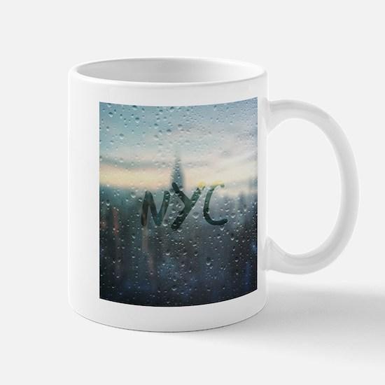 Rainy Day in NYC Mugs