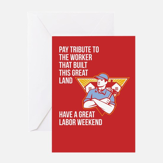 Labor Day Greeting Card Builder Hammer Houses Shie