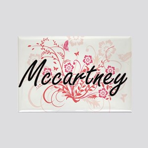 Mccartney surname artistic design with Flo Magnets