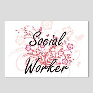 Social Worker Artistic Jo Postcards (Package of 8)