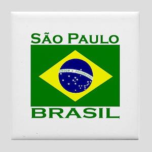 Sao Paulo, Brazil Tile Coaster