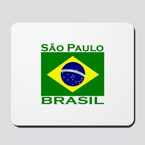Sao Paulo, Brazil Mousepad
