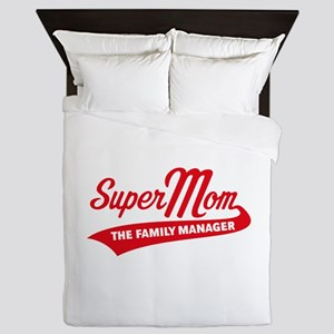Super Mom – The Family Manager Queen Duvet