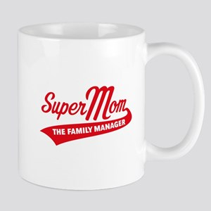 Super Mom – The Family Manager Mugs
