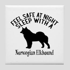 Feel Safe At Night Sleep With Norwegi Tile Coaster