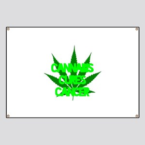 Cannabis Cures Cancer Banner