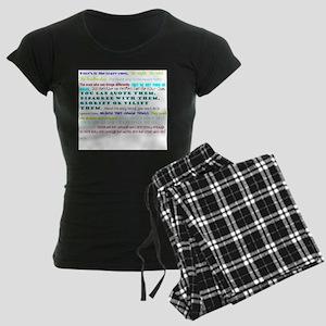 people who change things Women's Dark Pajamas