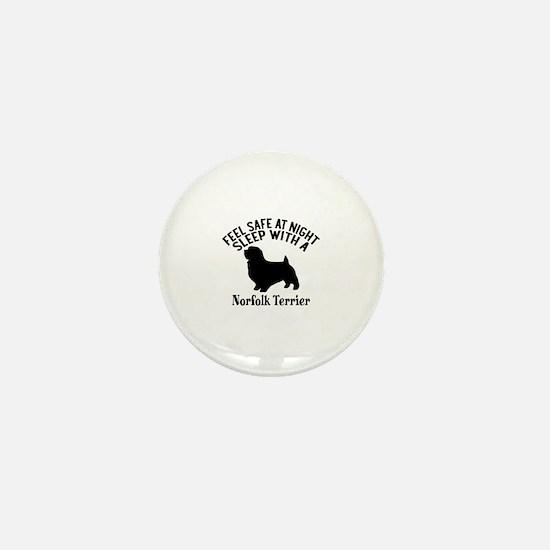 Feel Safe At Night Sleep With Norfolk Mini Button