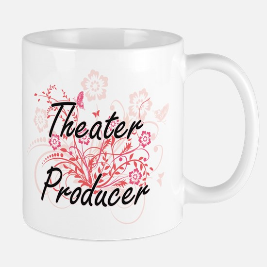 Theater Producer Artistic Job Design with Flo Mugs