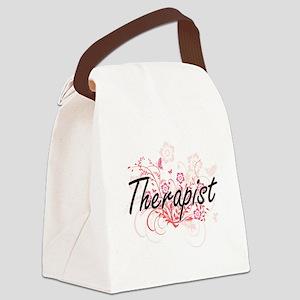 Therapist Artistic Job Design wit Canvas Lunch Bag