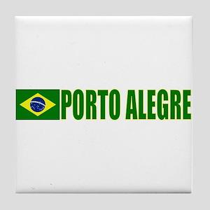Porto Alegre, Brazil Tile Coaster