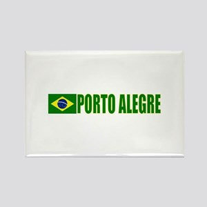 Porto Alegre, Brazil Rectangle Magnet