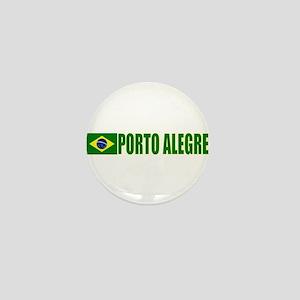 Porto Alegre, Brazil Mini Button