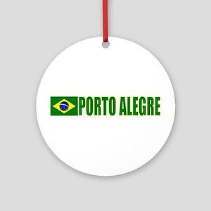 Porto Alegre, Brazil Ornament (Round)