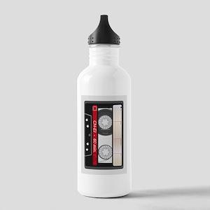 Audio Cassette Sports Water Bottle