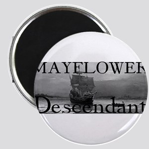 Mayflower Descendant Magnet